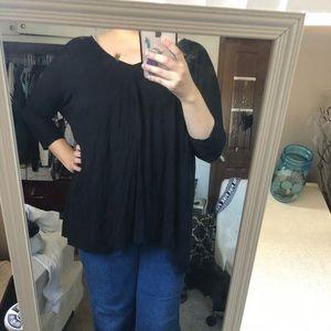 Tops - Black tunic top